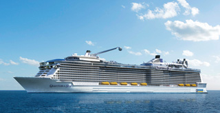 Quantum of the Seas - Rendering courtesy of Royal Caribbean