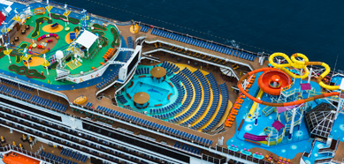 Carnival Breeze Top Deck - Courtesy of Carnival Cruise Lines