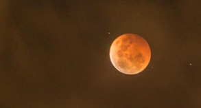 Blood Moon during Lunar Eclipse