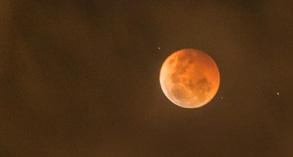 Blood Moon during Lunar Eclipse