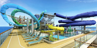 Norwegian Escape Aqua Park - Courtesy of Norwegian Cruise Line