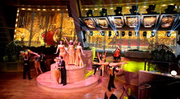 Anthem of the Seas' Two70 evening entertainment - Courtesy of Royal Caribbean
