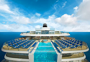 Viking Star Infinity Pool - Courtesy of Viking Oceans