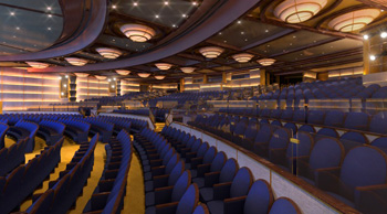 Royal Princess Theater - Courtesy of Princess Cruises