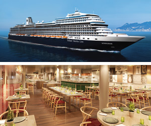 Holland America ms Koningsdam and Culinary Art Center