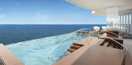 Seven Seas Explorer - Spa Infinity Pool