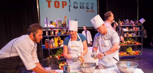 Top Chef at Sea - Courtesy of Celebrity Cruises