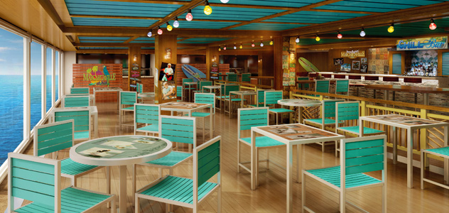 Margaritaville on Norwegian Escape