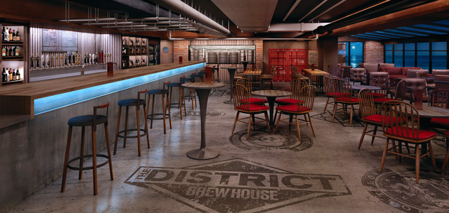 District Brew House - Courtesy of Norwegian Cruise Line