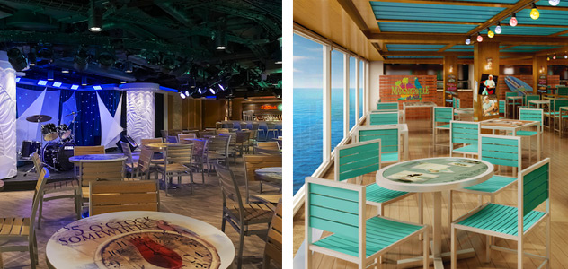 5 O'Clock Somewhere Bar / Jimmy Buffett's Margaritaville - Courtesy of Norwegian Cruise Line