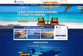 The Cruise Web's New Homepage