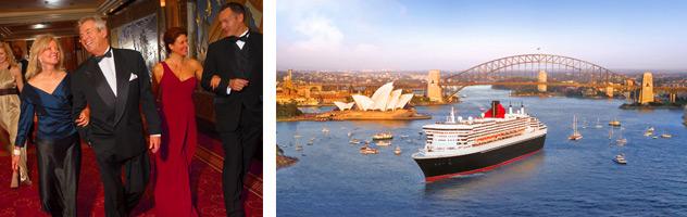 World Cruising - Courtesy of Cunard Line