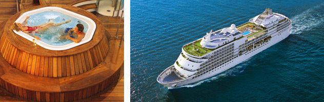World Cruising - Courtesy of Regent Seven Seas Cruises