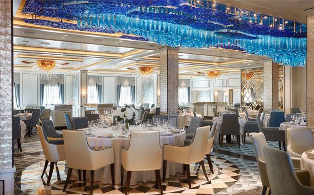 Seven Seas Explorer Main Dining Room