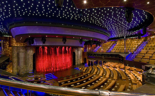 Carnival Cruise Line Dream Stage