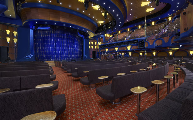 Carnival Cruise Line Ovation Theater