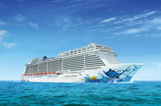 Norwegian Escape Exterior