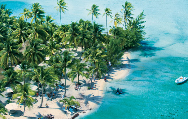 Paul Gauguin Cruises - Private Beach