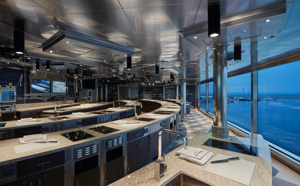 Seven Seas Explorer - Culinary Arts Kitchen