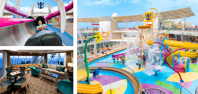 Ultimate Abyss, AquaTheater Suite and Splashaway Bay - Courtesy of Royal Caribbean