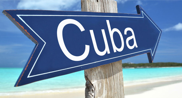 Welcome to Cuba sign