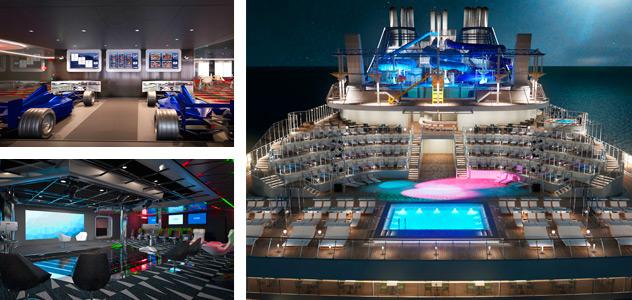 MSC Meraviglia - Courtesy of MSC Cruises