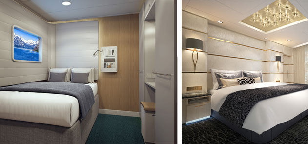 Studio Stateroom and Suite