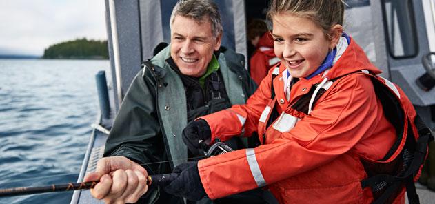 Princess Cruises - fishing excursion