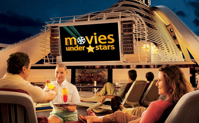 Princess Cruises - movies under the stars