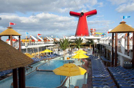 Carnival Sensation - Pool