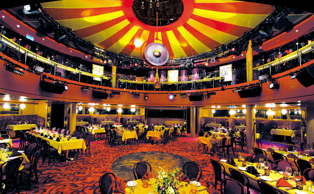 Norwegian Epic - Spiegel Tent Theater