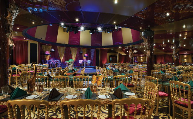 Norwegian Breakaway - Spiegel Tent Theater
