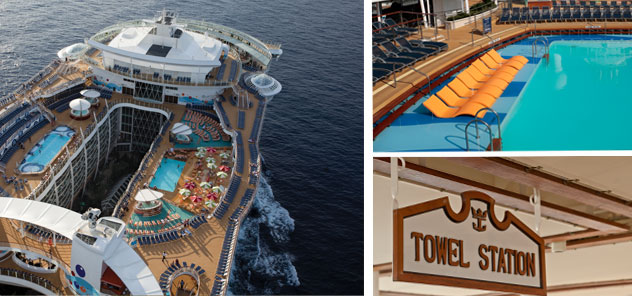 Royal Caribbean - pool