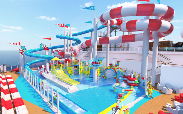 Carnival Horizon- Dr. Suess Waterpark