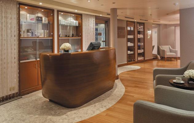Seven Seas Voyager -spa reception