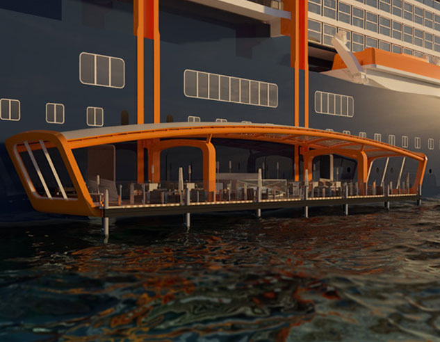 The newest ship from Celebrity Cruises, Celebrity Edge, will be making her debut in November 2018.