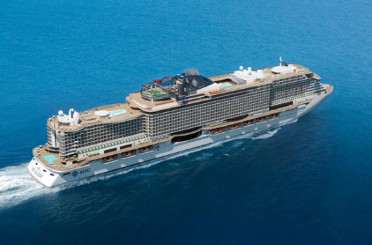 The MSC Seaview will debut in June 2018.