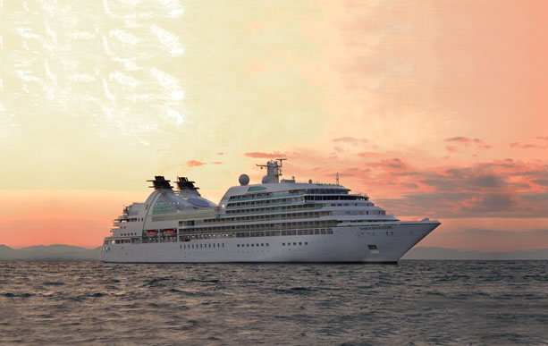 Seabourn Sojourn on Sea