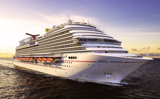 Carnival Cruise Line's newest ship, Carnival Horizon.