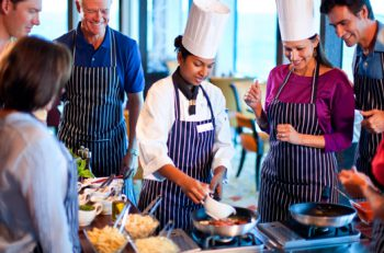 Chef Demo aboard Celebrity Cruises