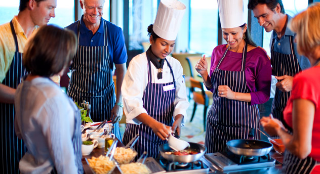 Chef Demo aboard Celebrity Cruises