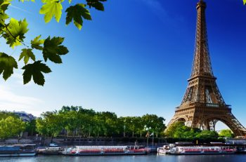 The B from U by Uniworld sails down France's Seine River, making a stop in Paris, France.