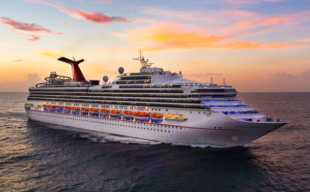 Carnival Announces New Home For Carnival Sunshine In Charleston - Cruise ships out of charleston south carolina