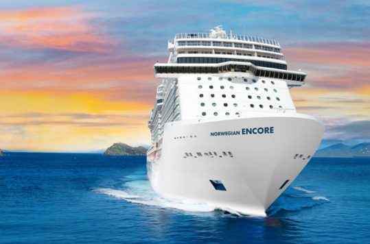 Norwegian Cruise Line's newest ship, Norwegian Encore, will debut in fall 2019.
