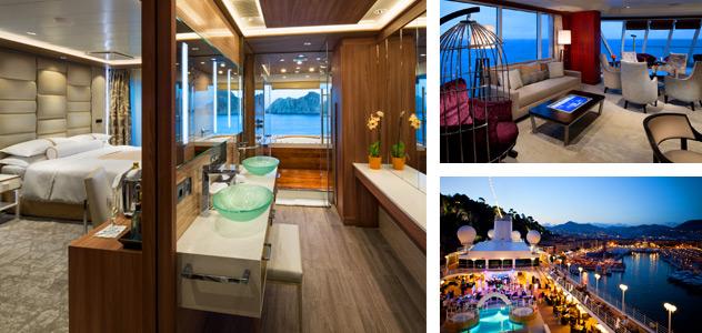 Azamara Pursuit - Courtesy of Azamara Club Cruises