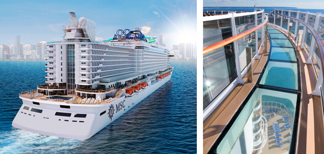 MSC Seaview - Courtesy of MSC Cruises