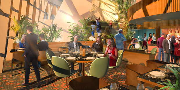 Eden Restaurant will be one of the new restaurants on Celebrity Edge.