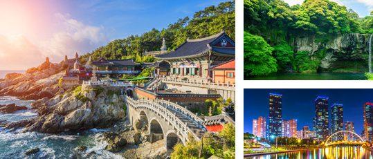 Diverse beauty of South Korea