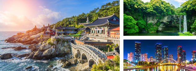 Diverse beauty of South Korea