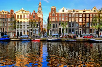 Travelers can visit the capital of The Netherlands, Amsterdam, on The A.